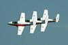 2228 Snowbirds formation flying
