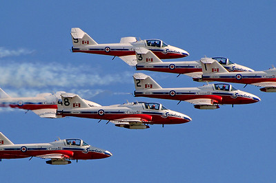 "Canadian Forces ""Snowbirds"" 431 Air Demonstration Squadron"