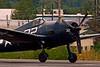5503 Grumman F6F-5 Hellcat propellor tip vorticies