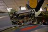 3277 Supermarine Spitfire Mk Vc Rolls Royce engine cowling open