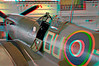 5928 SuperMarine Spitfire Mk VC Anaglyph