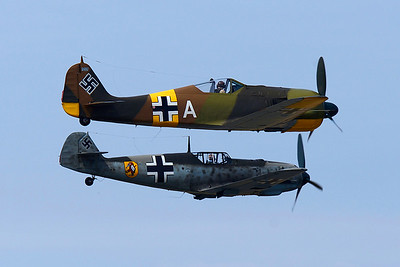 Flying Heritage Collection's Luftwaffe Day 2014