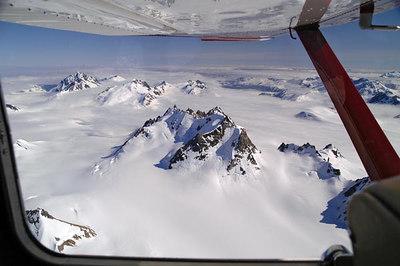 Glacier Bay Alaska Aerial Photos