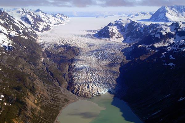 Reid Glacier and Inlet