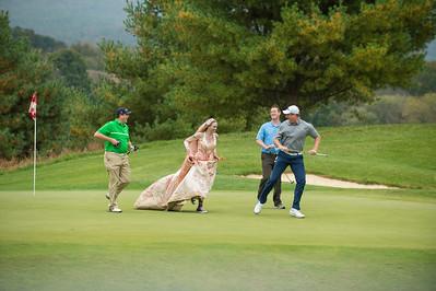 Flying Dogs Golfing Dead