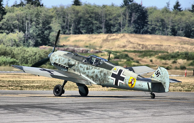 Bf 109 E-3 at FHC Skyfair July 2014