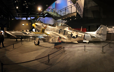 Boeing Museum of Flight P51 - October 2014