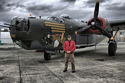 B24 Witchcraft at Flying Heritage Collection - 2014 - Father's Day