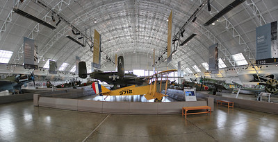 Inside the hanger at the FHC July 2013