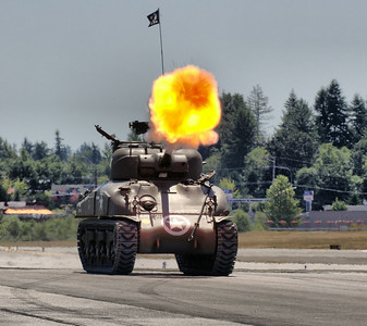 Sherman Tank of the FHC Collection July 2014