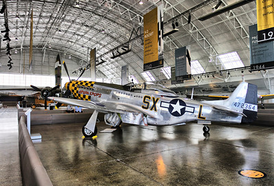P51 Mustang at Paul Allen's Flying Heritage Collection, July 2013