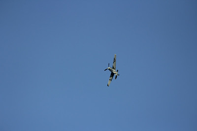 Bf-109 - View Original Size . . . love this open blue sky pic