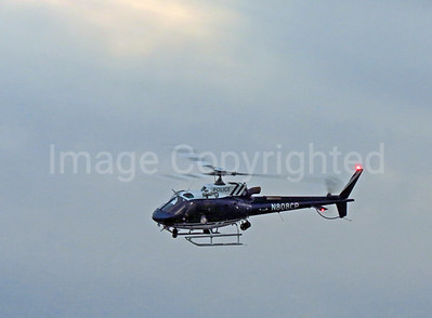 Baltimore police helicopter