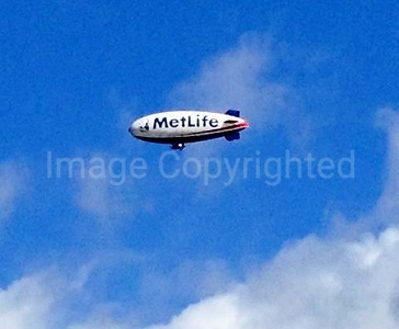 MetLife blimp 7/4/13