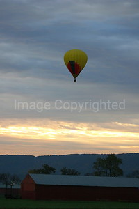 Balloon at Sunrise - 10/26/06