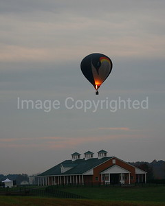 Balloon over Barn - 10/28/06