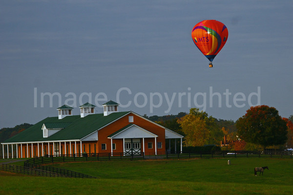 Balloon over stable -11/5/08