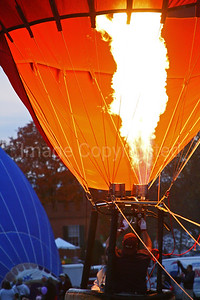 Filling up the balloon - 10/27/08