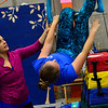 Members of New England Center for Circus Arts rehearse for the Flying Nut Express, a contemporary re-imagining of the classic Nutcracker story, on Tuesday, Dec. 5, 2017. The show will run on Friday, Dec. 15 to 17 at 10 Town Crier Drive.