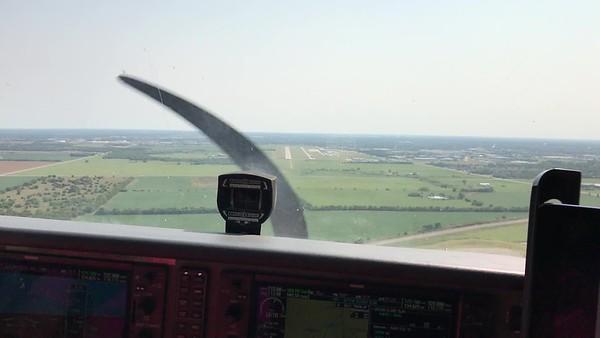 KAAO VFR ILS RWY 18 (09-02-2017)