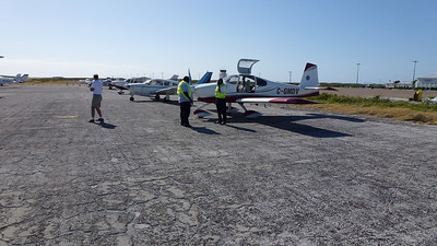 April 16, 2012. Arriving in Anguilla