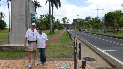 April 20, 2012 Arriving in Martinique