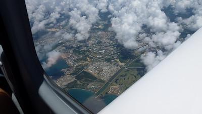 Flight to Santo Domingo April 23, 2012