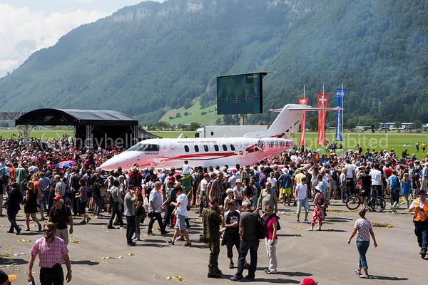 Pilatus PC-24 Roll-Out 1.8.2014