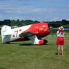 """<a href=""""http://en.wikipedia.org/wiki/Gee_Bee_R-1"""" target=win98>Gee Bee</a> @ Owl's Head, Maine, USA"""