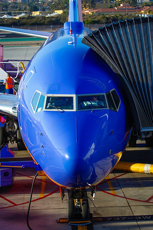 Southwest Airlines at San Diego