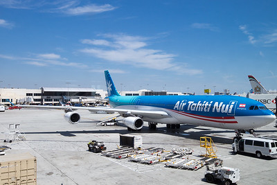 Air Tahiti Nui A340 at LAX