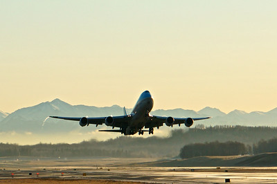 Korean Air Cargo B747-8F, Anchorage