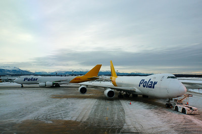 Atlas/Polar B747-8Fs, Anchorage