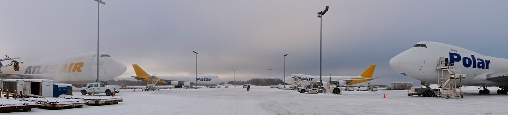 Atlas/Polar parking, Anchorage