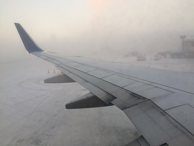 Fog in Anchorage