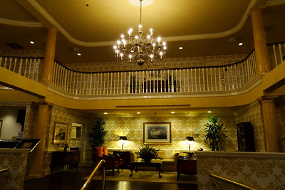Inside the Doubletree, Charleston