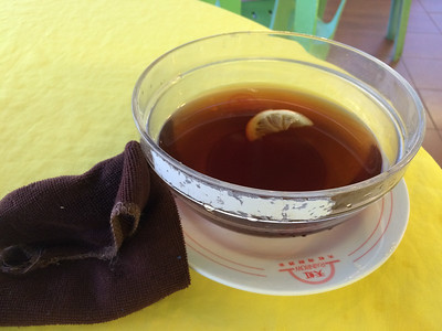 tea for washing hands