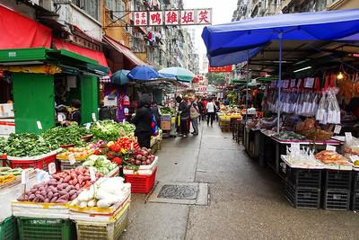 Street Market vendors