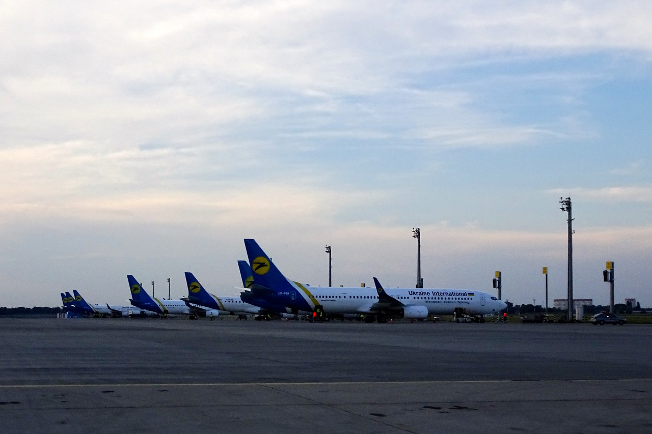 Ukraine International fleet