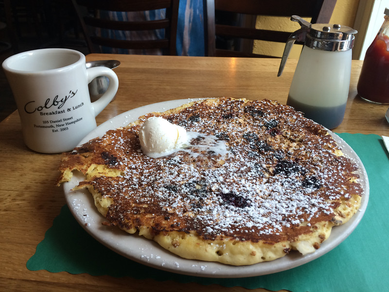 Pancake at Colby's