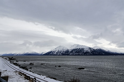 Driving to Seward