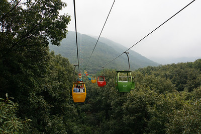 Tram to Song Mountain