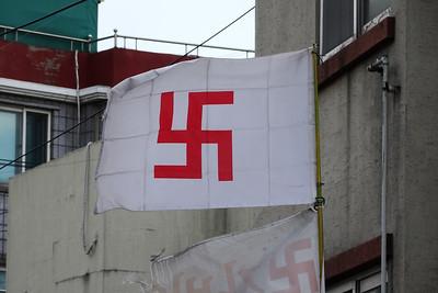 Buddhist flag!