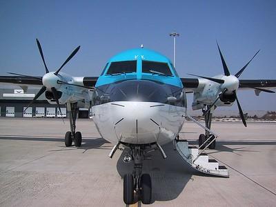 F50 KLM cityhopper training