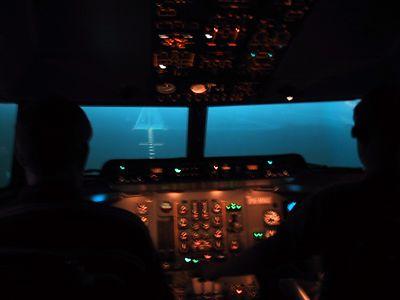 Fokker 50 MCC simulator course