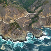Pacific Coast Highway 1 flying North from Cambria.