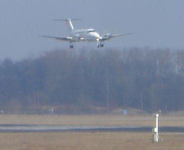 King Air low pass