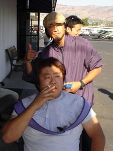 Fujita's haircut