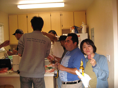 BBQ at Fujita's
