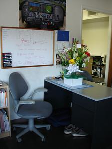 Shoki's desk...